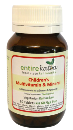 Childrens Multivitamin & Mineral